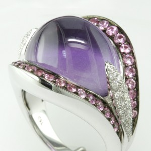 Amethyst Ring - Eichhorn's Colorful Jewelry Available in Morgan Hill