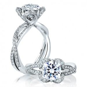 A. Jaffe Engagement Rings - Jewel Box Morgan Hill
