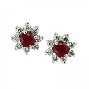 diamond_ruby_stud_cluster_earring_morganhill