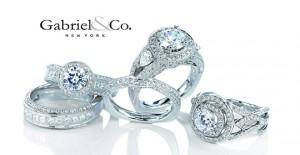 Diamond Engagement Ring by Gabriel - Morgan Hill