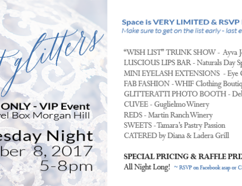 All That Glitters – Ladies Night – Wednesday, Nov 8, 2017
