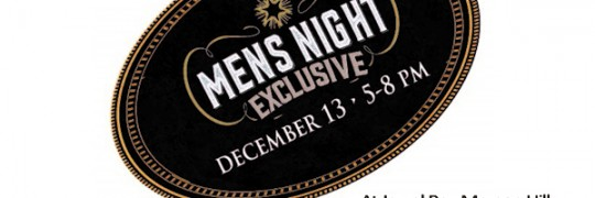 Men's Night - Jewel Box Morgan Hill