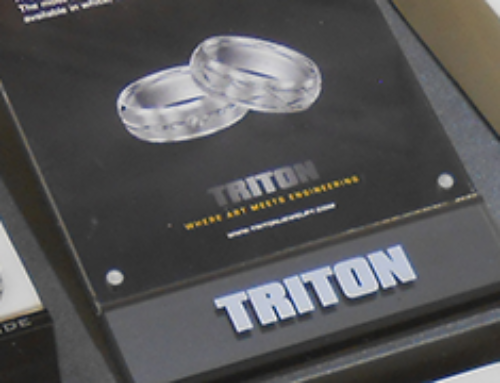Men's Wedding Rings – Triton is White Hot