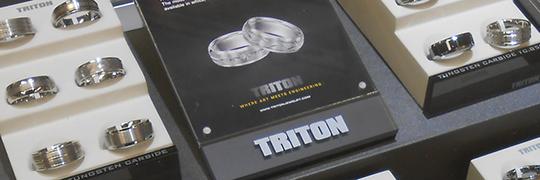 Shop Men's Wedding Bands by Triton