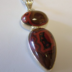 Morgan Hill Poppy Jasper Necklace with Pendant