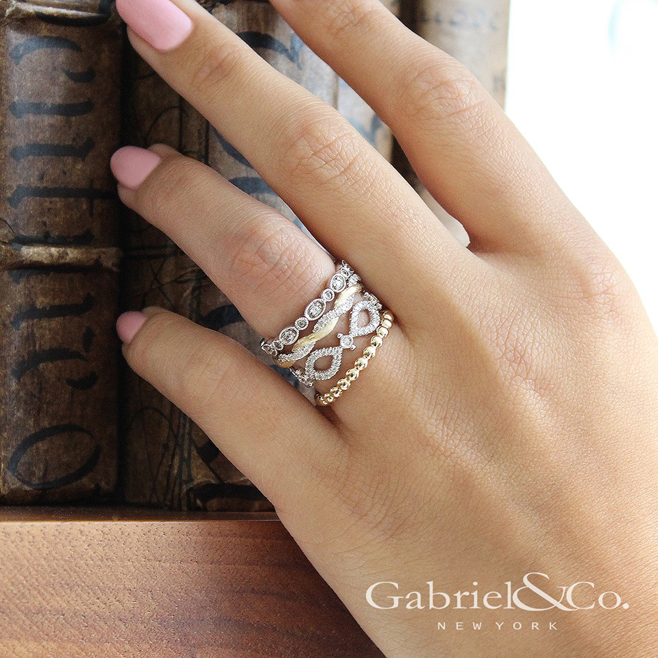 stacked wedding rings stackable rings delicate designs morgan hill box 7656