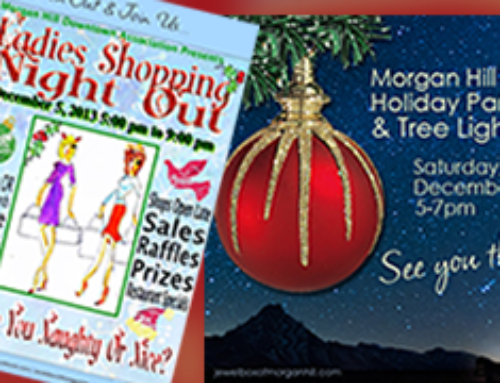 Schedule of Holiday Events in Morgan Hill