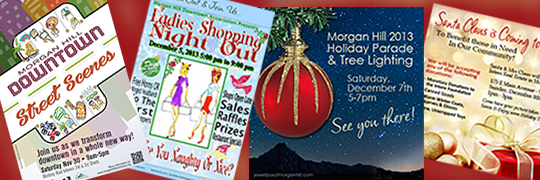Morgan Hill Holiday Event Times