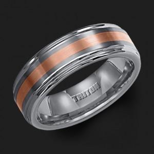 Men S Wedding Bands In Contemporary Metals